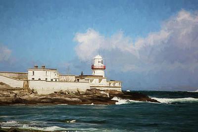 Valentia Island Lighthouse - Digital Painting Poster