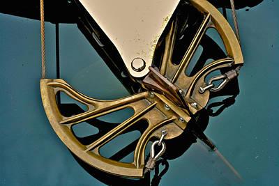 Vintage Ditchburn Racer Poster by Steven Lapkin