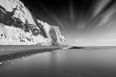 White Cliffs Of Dover Poster by Ian Hufton