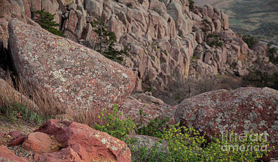 Poster featuring the photograph Wichita Mountains by Iris Greenwell