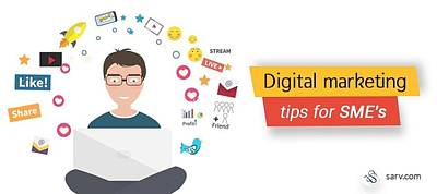 5 Winning Digital Marketing Strategies For Smes Poster