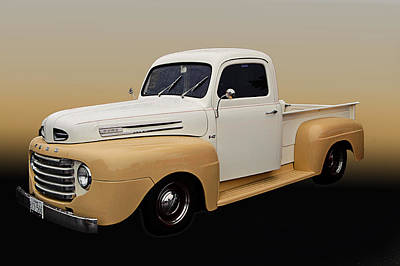 50 Ford Pickup Poster by Jim  Hatch