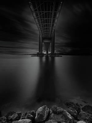 Poster featuring the photograph 50 Shades Of Verrazano by Edgars Erglis