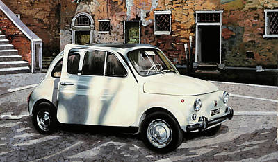 500 Poster by Guido Borelli