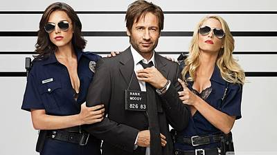 50557 Californication Hank Moody Poster