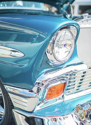 50s Chevy Chrome Poster by Mike Reid