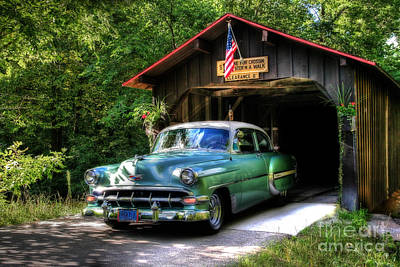 54 Chevy Poster by Joel Witmeyer
