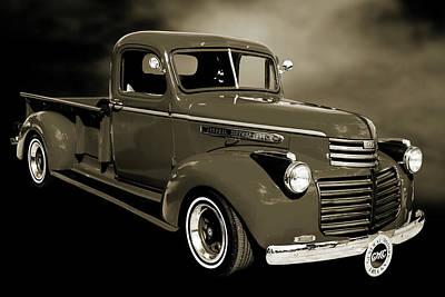 5514.04 1946 Gmc Pickup Truck Poster