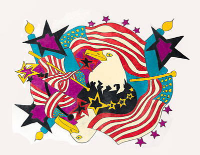 America Poster by Scott Soucy