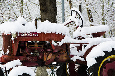 Winter In Virginia Poster by Kevin Blackburn