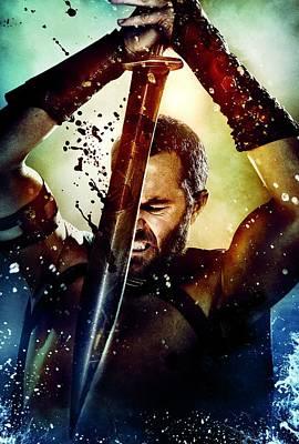 300 Rise Of An Empire 2014 Poster by Caio Caldas