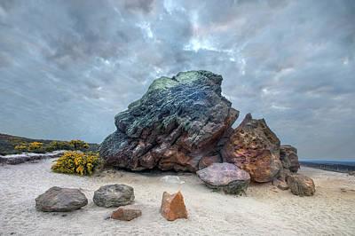 Agglestone Rock - England Poster by Joana Kruse