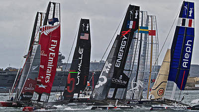 America's Cup World Series Poster