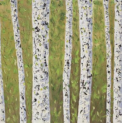 Aspen Trees Colorado Poster by Frederic Payet