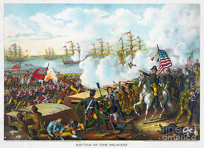 Battle Of New Orleans Poster by Granger