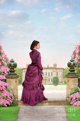 Beautiful Victorian Woman Poster