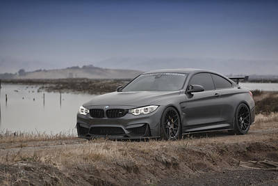 Poster featuring the photograph Bmw M4 by ItzKirb Photography