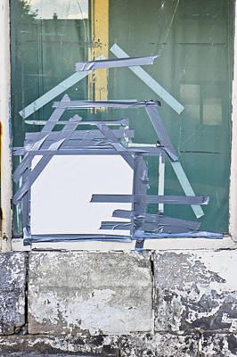 Broken Window Poster by Tom Gowanlock