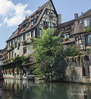 Canals Of Colmar Poster by Yefim Bam