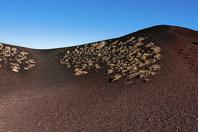 Etna, Red Mount Crater Poster