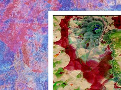 Flowers Poster by Contemporary Art