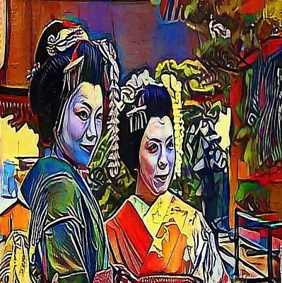 geisha - My WWW vikinek-art.com Poster