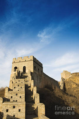 Great Wall Of China - Jinshanling Poster by Gloria & Richard Maschmeyer - Printscapes