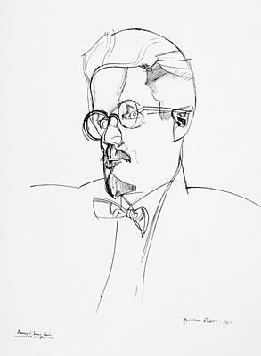 James Joyce (1882-1941) Poster by Granger