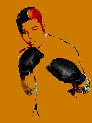 Joe Louis Collection Poster by Marvin Blaine