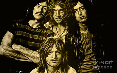 Led Zeppelin Collection Poster