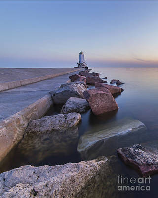 Ludington Lighthouse Poster by Twenty Two North Photography
