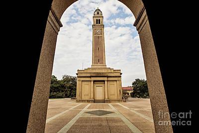 Memorial Tower - Lsu Poster by Scott Pellegrin