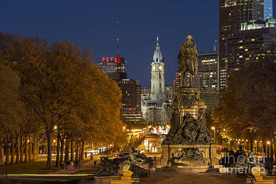 Philadelphia Skyline Poster by John Greim
