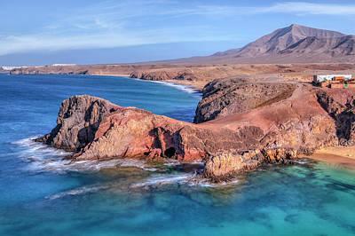 Playa Papagayo - Lanzarote Poster by Joana Kruse