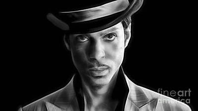 Prince Tribute Poster by Marvin Blaine