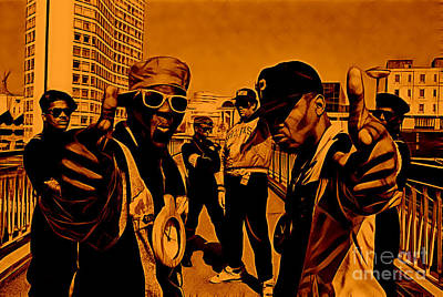 Public Enemy Collection Poster by Marvin Blaine