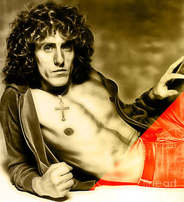 Roger Daltrey Collection Poster by Marvin Blaine
