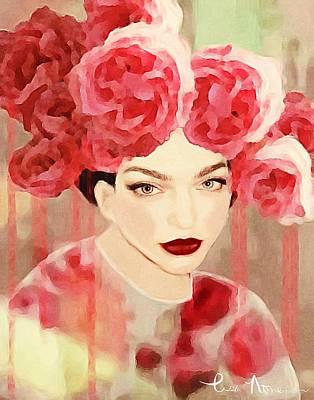 Rose Poster by Lisa Noneman