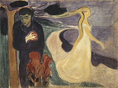 Separation Poster by Edvard Munch