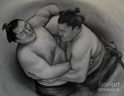 Sumo Poster by Gabriela Junosova