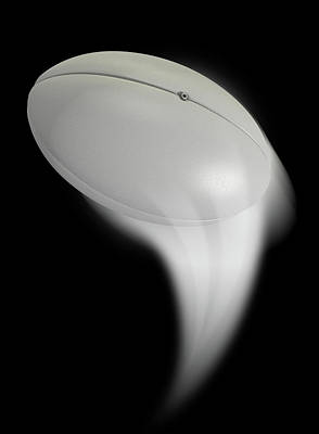 Swooshing Ball Poster by Allan Swart