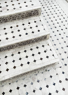 Tiled Steps Poster by Tom Gowanlock
