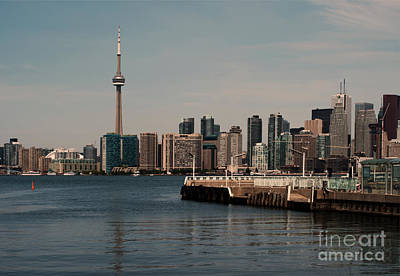 Toronto Skyline Poster by Blink Images