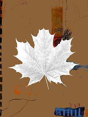Tree Leaves Art Poster by Marvin Blaine
