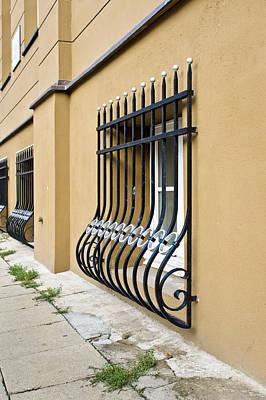 Window Bars Poster by Tom Gowanlock