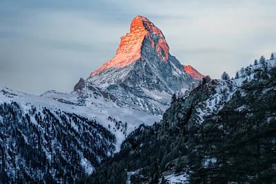 Zermatt - Switzerland Poster by Joana Kruse