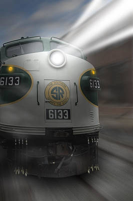 6133 On The Move Poster by Mike McGlothlen