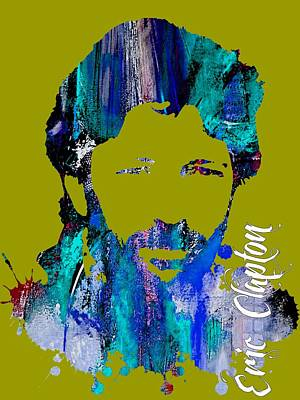 Eric Clapton Collection Poster