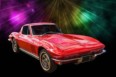 66 Corvette Poster