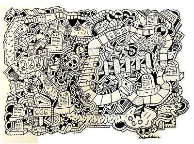 666 Poster by Chelsea Geldean